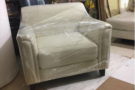 Mẫu sofa chung cư hiện đại bọc vải cho phòng khách mã 03-4