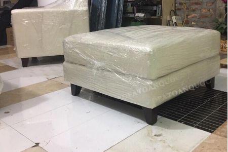 Mẫu sofa chung cư hiện đại bọc vải cho phòng khách mã 03-5
