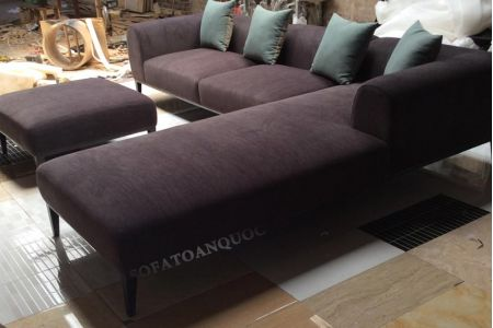 ghế sofa vải mã 04-3