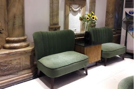 Ghế sofa văng đôi cho khách sạn mã 02-4