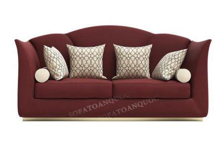 Bộ ghế sofa văng bọc vải đẹp cho phòng khách nhà ống mã 25-1