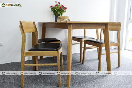 Bàn ghế ăn mã 35-4