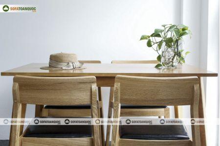 Bàn ghế ăn mã 35-5