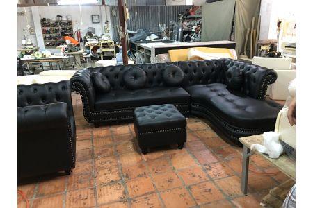 sofa da mã 153-1