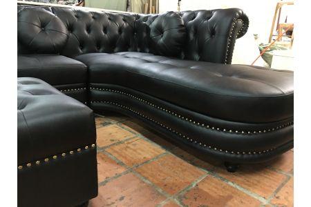 sofa da mã 153-4