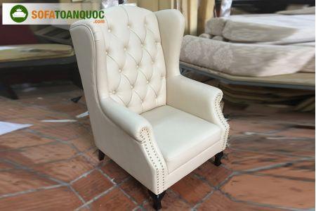 Mẫu Ghế Ngồi Sofa Armchair Bọc Da Mã 45 -1