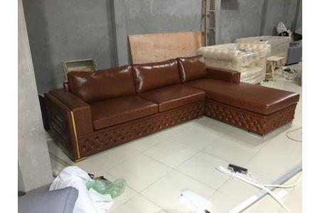 ghế sofa da mã 166-3