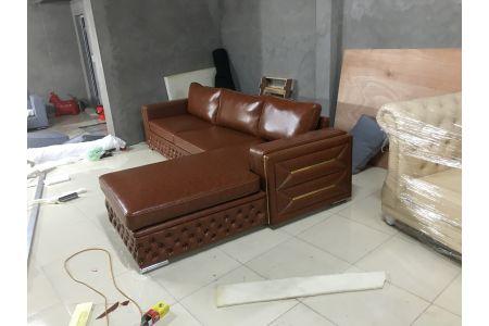 ghế sofa da mã 166-4