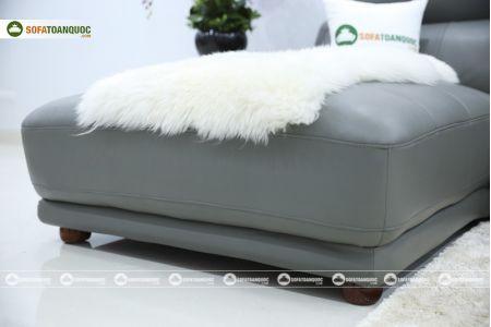 Bộ bàn ghế sofa da microfiber mã sdn6p-10