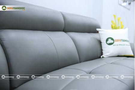Bộ bàn ghế sofa da microfiber mã sdn6p-12