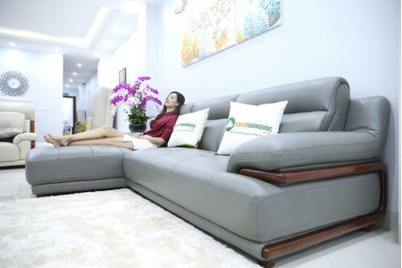 Bộ bàn ghế sofa da microfiber mã sdn16p-1