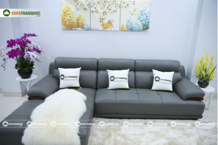 Bộ bàn ghế sofa da microfiber mã sdn16p-6