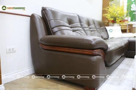 Bộ bàn ghế sofa da phong cách châu âu nhập khẩu mã sdn22t-11