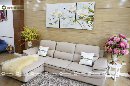 Bộ ghế sofa da mã sdn29p-5