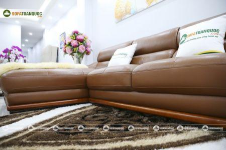 bộ ghế sofa da cao cấp nhập khẩu mã sdn19p-9