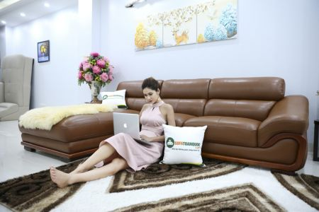 bộ ghế sofa da cao cấp nhập khẩu mã sdn19p-1-1