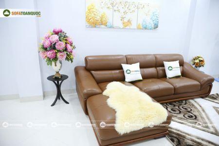 bộ ghế sofa da cao cấp nhập khẩu mã sdn19p-6