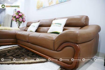 bộ ghế sofa da cao cấp nhập khẩu mã sdn19p-8