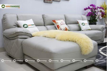 Bộ ghế sofa da điện tích hợp công nghệ nâng chân tự động mã VH-07P-10