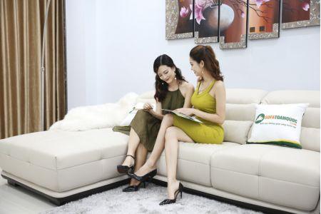 Bộ Bàn Ghế Sofa Thấp Bọc Da Nhập Khẩu Mã QV-913P-6
