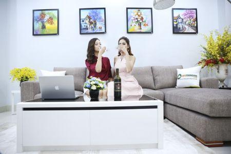 Bộ ghế sofa góc vải bố màu xám lông chuột mã TNV-01T-3