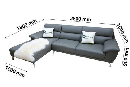 Ghế sofa da mã TN-06P