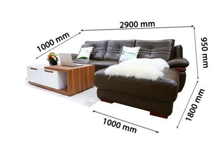 Sofa da nhập khẩu mã VH-05T