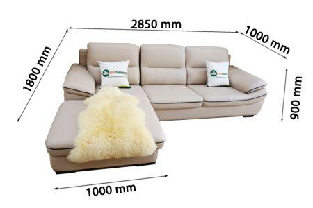 Sofa da nhập khẩu mã VH-19P