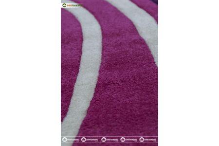 Thảm trang trí sofa phòng khách mã CALIFORNIA 104 FUCHASIA PUPLE