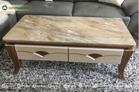 Bàn sofa mặt đá nhập khẩu nguyên chiếc mã 840