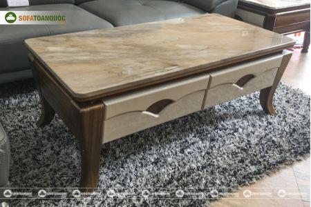 Bàn sofa mặt đá nhập khẩu mã 840