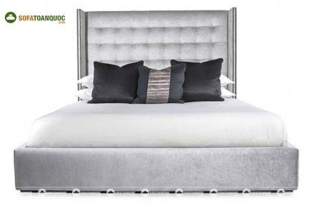 Giường ngủ bọc vải mã 65