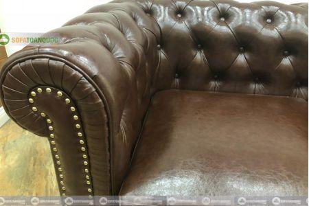 Ghế sofa văng da tân cổ điển mã 151