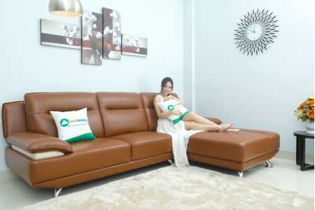 Sofa đẹp phòng khách góc l mã M04