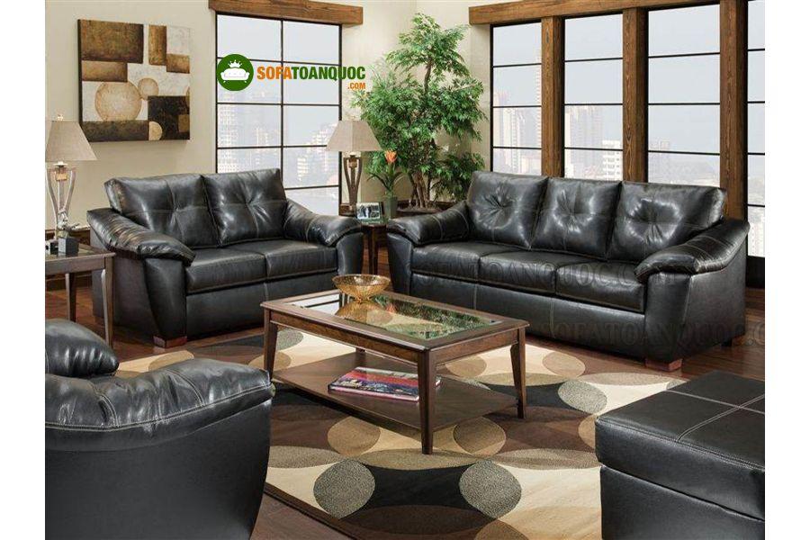bộ ghế sofa da bò tót hơn 100 triệu
